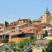 Roussillon In Provence Art Print