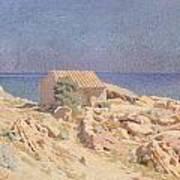 Roussillon Landscape Art Print
