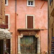 Roussillon Painted Door Art Print