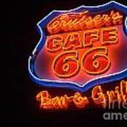 Route 66 Bar And Grill Art Print