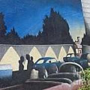 Route 66 Brandon Mural Art Print