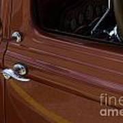 Route 66 Classic Cars 14 Art Print
