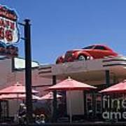 Route 66 Cruisers Williams Arizona Art Print