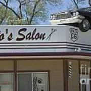 Route 66 Desotos Salon Art Print