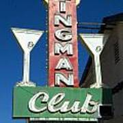 Route 66 Kingman Club Art Print