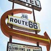 Route 66 Motel Sign 1 Art Print