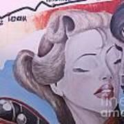 Route 66 Mural 10 Art Print