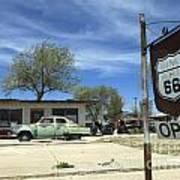 Route 66 Still Open Art Print