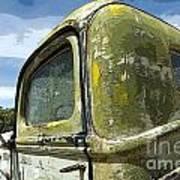 Route 66 Vintage Truck Art Print