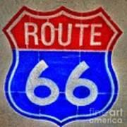 Route 66 Wall Art-2 Art Print