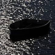 Row Boat In The Sun Art Print