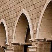 Row Of Arches Art Print
