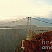 Royal Gorge Bridge Colorado - Take A Walk Across The Sky Art Print by Christine Till