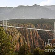 Royal Gorge Bridge Colorado - The World's Highest Suspension Bridge Art Print by Christine Till