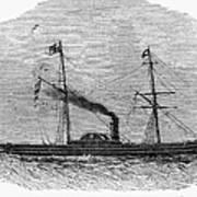 Royal Yacht, 1843 Art Print