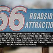 Rt 66 Towanda Il Parkway Signage Art Print