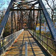 Rube Nelson Bridge 1 Art Print