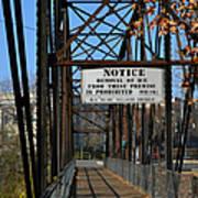 Rube Nelson Bridge 2 Art Print