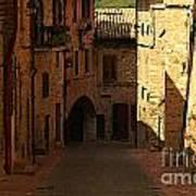 Rue De La Italia Art Print