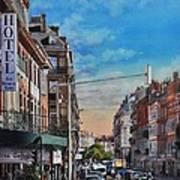 Rue De Metz In Toulouse Art Print