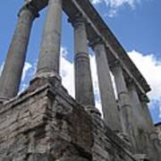 Ruined Columns Art Print