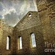 Ruins Of A Church In Ontario Art Print