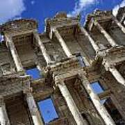Ruins Of The Great Library At Ephesus Art Print