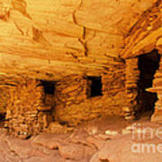Ruins Structures Art Print by Bob and Nancy Kendrick