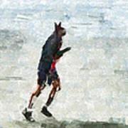 Run Rabbit Run Art Print