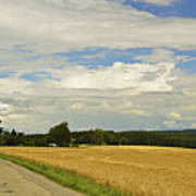 Rural Scene, Near Villingen-schwenningen Art Print