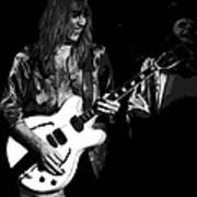 Rocking Out In Spokane 1977 B Art Print