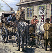 Russia: Siberia, 1882 Art Print