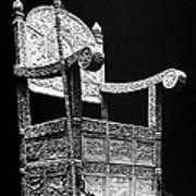 Russia: Throne Of Ivan Iv Art Print