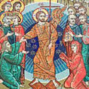 Russian Mosaic Icon Art Print