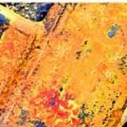 Rust 3 Art Print