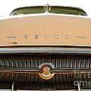 Rusted Antique Buick Car Brand Ornament Art Print