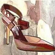 Rustic Saddle Up Art Print