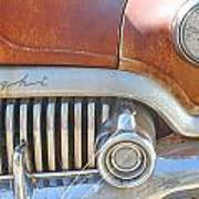 Rusty Abandoned Old Buick Eight Art Print