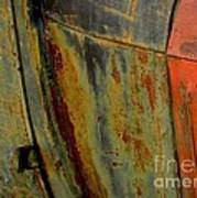Rusty Abstract Art Print