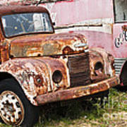 Rusty Commer  Art Print by David Lade