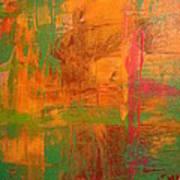 Rusty Hue Art Print