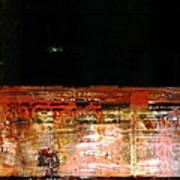 Rusty Layers Art Print