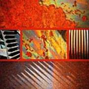Rusty Metal Canvas Art Print