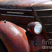 Rusty Old 1935 International Truck . 7d15499 Art Print by Wingsdomain Art and Photography