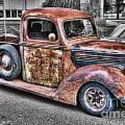 Rusty Old Truck  Art Print
