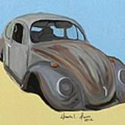 Rusty V.w. Bug Art Print