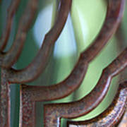 Rusty Windchimes Art Print