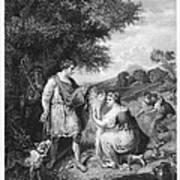 Ruth & Boaz Art Print