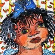 Ruthie Art Print by Mindy Newman