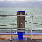 Ryde On The Solent Wharf Art Print